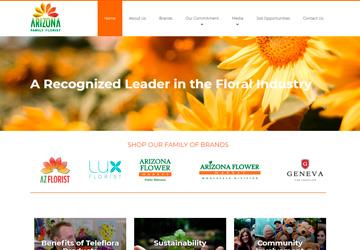 Arizona Family Florist Page