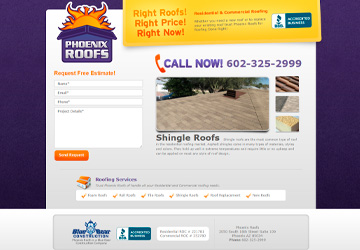 Phoenix Roofs Page